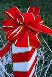 Curva do Natal Fotografia de Stock Royalty Free