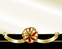 Curva do Natal de Elelgant Imagem de Stock Royalty Free