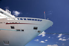 Curva do navio de cruzeiros Foto de Stock