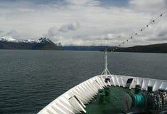 Curva do navio de cruzeiros Foto de Stock Royalty Free