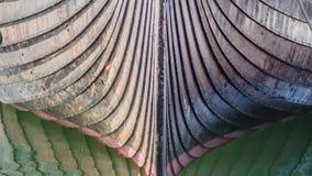 Curva do navio de Viking Imagens de Stock