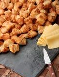 Curva do queijo Imagens de Stock Royalty Free