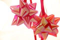 Curva do vermelho & do rosa Fotos de Stock Royalty Free