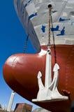 Curva dos navios foto de stock