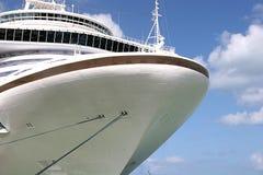 Curva dos navios Foto de Stock Royalty Free