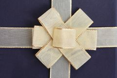 Curva dourada Imagem de Stock