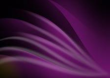 Curva e linea astratte fondo di porpora Fotografia Stock