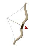 Curva e seta, cupido Fotografia de Stock Royalty Free