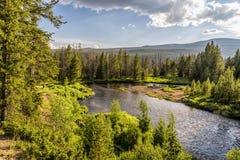 Curva en el río Colorado Imagen de archivo