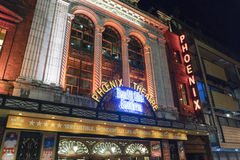 Curva le gusta Beckham musical en el teatro de Phoenix - Londres Inglaterra Reino Unido Imagen de archivo libre de regalías