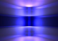 Curva ligera púrpura Fotografía de archivo