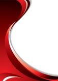 Curva roja Foto de archivo libre de regalías
