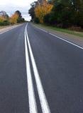 Curva stradale Fotografia Stock