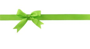 Curva verde Imagens de Stock Royalty Free