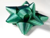 Curva verde do Natal fotos de stock