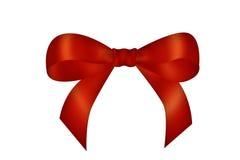 Curva vermelha ilustração royalty free