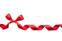 Curva vermelha Imagem de Stock