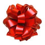 Curva vermelha da fita isolada Imagem de Stock Royalty Free