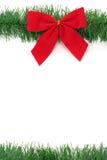 Curva vermelha do Natal fotografia de stock royalty free