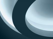 Curvas abstractas arquitectónicas Imágenes de archivo libres de regalías