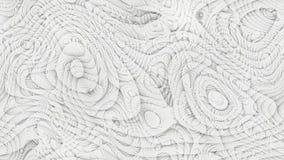 Curvas abstractas - líneas paramétricas y formas curvadas 4k inconsútiles imágenes de archivo libres de regalías