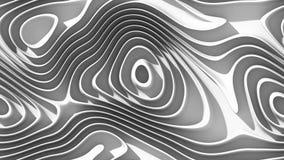 Curvas abstractas - líneas paramétricas y formas curvadas 4k inconsútiles libre illustration