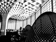 Curvas - aeropuerto internacional de Bombay fotos de archivo libres de regalías