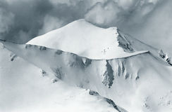 Curvas alpinas Fotografia de Stock