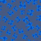 Curvas azuis bonitas em um contexto cinzento Fundo sem emenda ilustração do vetor