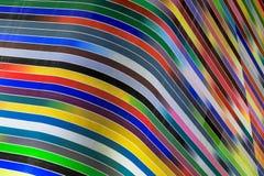 Curvas coloridas en Miami céntrica imagen de archivo libre de regalías