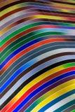 Curvas coloridas en Miami céntrica fotografía de archivo libre de regalías