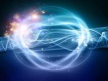 Curvas da luz Imagens de Stock