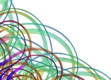 Curvas de la esquina Imagen de archivo libre de regalías