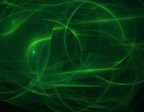 Curvas de néon ilustração stock