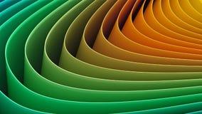 Curvas de papel Imagem de Stock Royalty Free