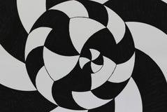 Curvas de preto e branco Fotografia de Stock