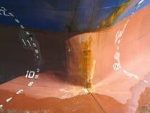 Curvas de um navio Foto de Stock Royalty Free
