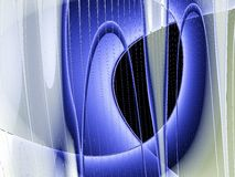 Curvas del azul Libre Illustration