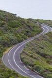 Curvas del gran camino del océano en Australia fotos de archivo libres de regalías
