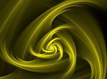 Curvas douradas ilustração stock
