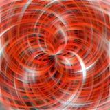 Curvas efervescentes alaranjadas, fundo abstrato Imagens de Stock Royalty Free