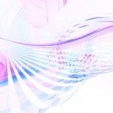 Curvas en colores pastel Fotografía de archivo