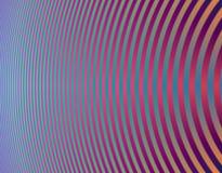 Curvas hipnóticas Fotografia de Stock