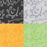 Curvas inconsútiles del color Imagen de archivo