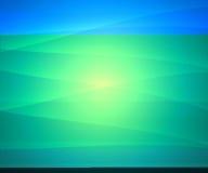 Curvas no azul ilustração royalty free