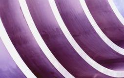Curvas púrpuras imagen de archivo