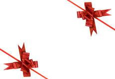 Curvas vermelhas do feriado Imagem de Stock