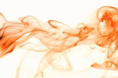 Curvas vermelhas do fumo Imagens de Stock