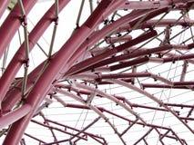 Curvas y ángulos de un Supertree Imágenes de archivo libres de regalías