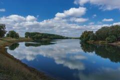 Curvatura do rio Fotos de Stock